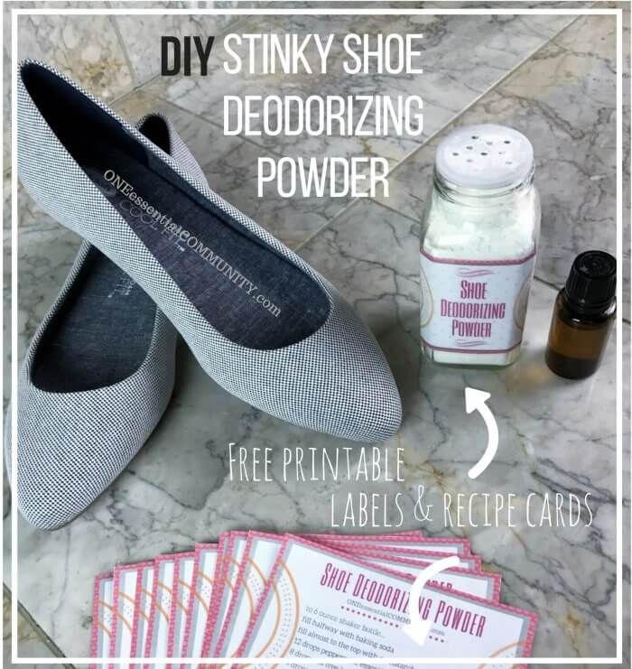 Shoe Deodorizing Powder One Essential Community Stinky Shoes Smelly Shoes Shoe Odor