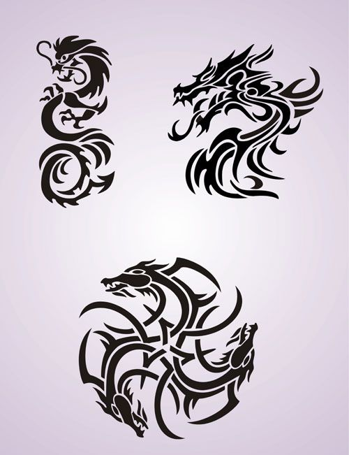 circular dragon celtic knot motif tatt pinterest celtic knots dragons and tattoo. Black Bedroom Furniture Sets. Home Design Ideas