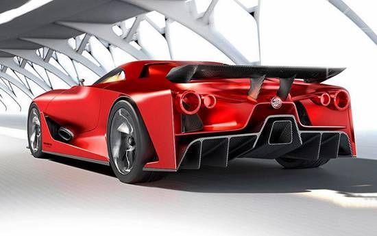 Tush 2018 Nissan Gtr R36 Hybrid Concept 2020