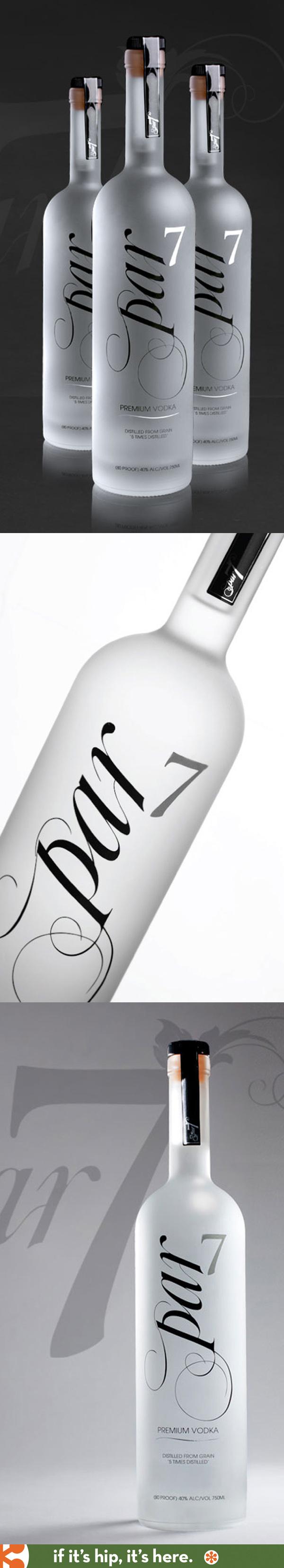 Par 7 Premium Vodka bottle
