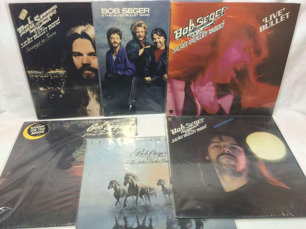 Bob Seger The Silver Bullet Band Lp Vinyl Record Lot Stranger In Town Live Vinyl Records Lp Vinyl Bob Seger