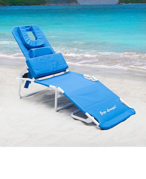 Beach Lounge Chairs With Face Hole
