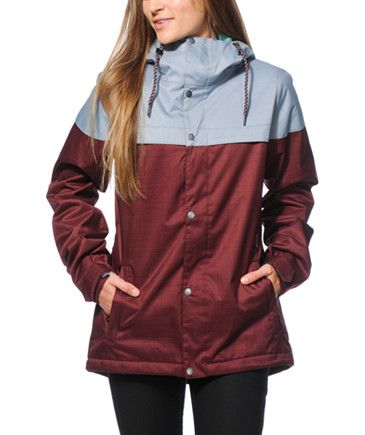 Women s Snowboard Jackets at Zumiez   CP  2b43c5a3b1