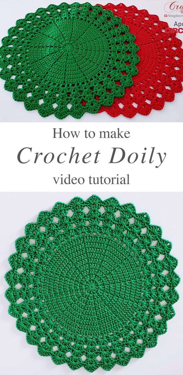 Crochet Sousplat Doily You Can Make Easily | CrochetBeja