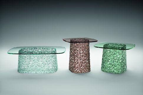 Macrame Coffee Table By Lucidi U0026 Pevere For Fiam Italia