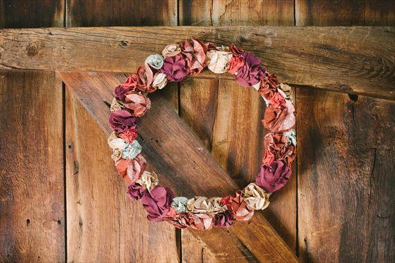 Wreath (photo: Michelle Gardella Photography)