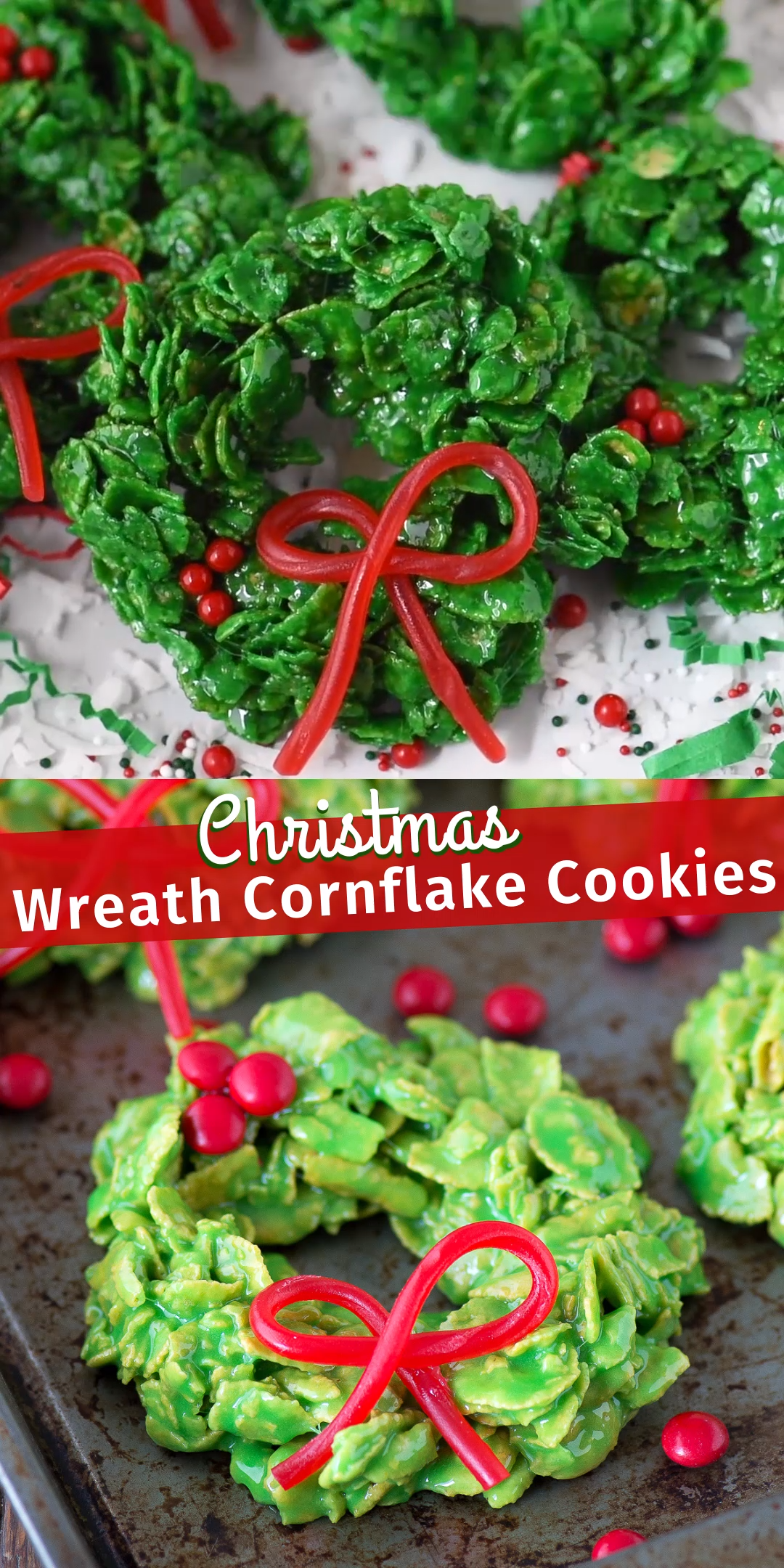 12 holiday Wreaths corn flakes ideas