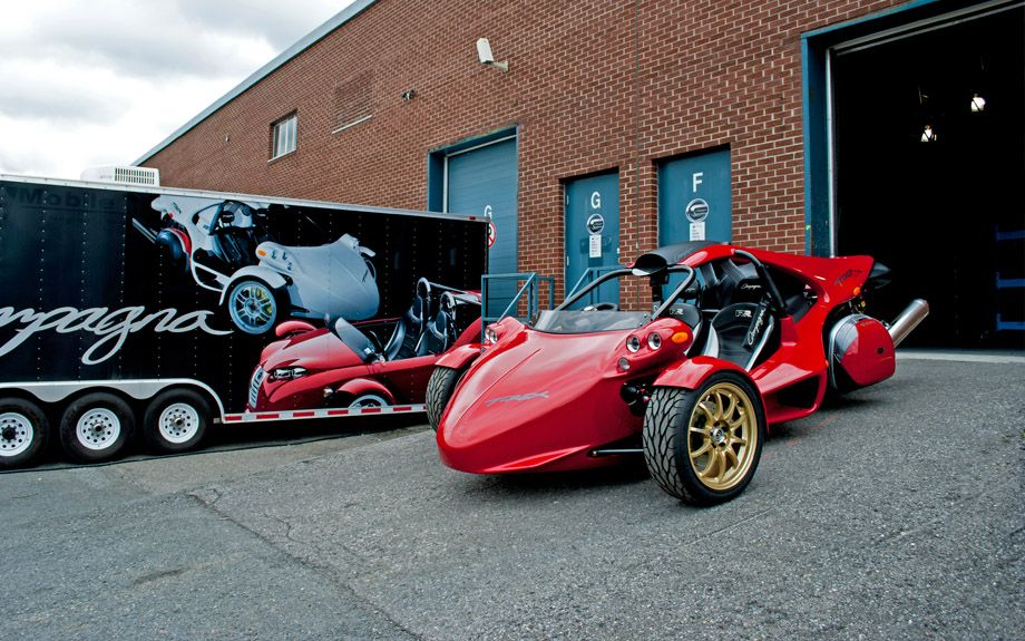 Campagna motors t rex and v13r the original 3 wheels for T rex motor vehicle