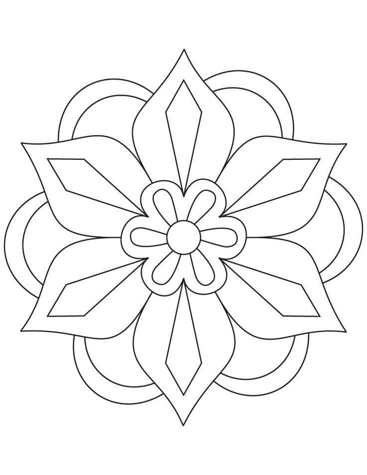 diwali malvorlagen diwali rangoli patterns coloring pages