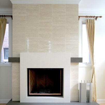 Caesarstone Fireplace Surround Design Pictures Remodel