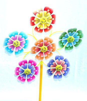 Epic Sch ne Windm hle cm Windspiel Blume Dekoration Garten Balkon Terrasse Windrad