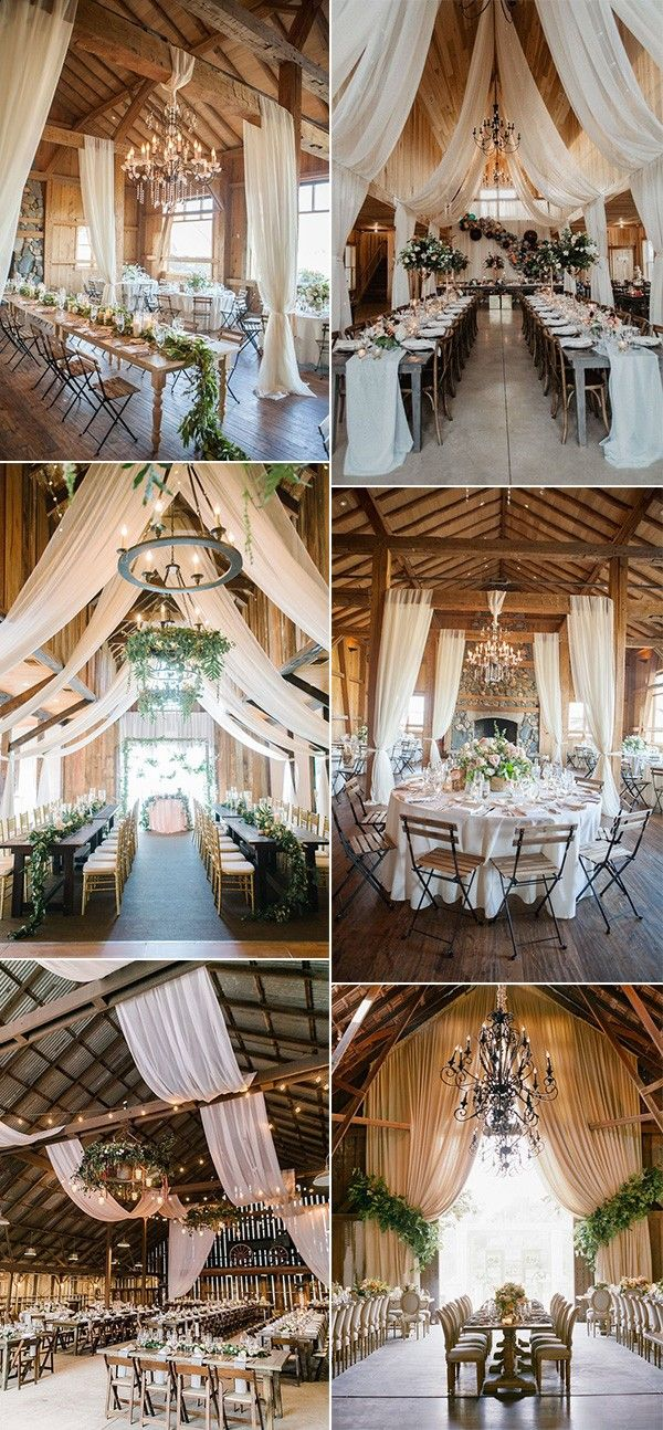 20 Country Rustic Wedding Reception Ideas for Your Big Day