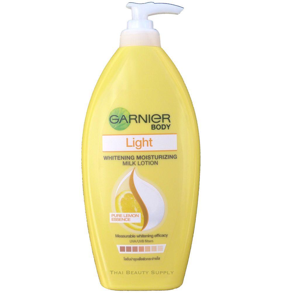 Garnier Light Skin Whitening Moisturizing Milk Body Lotion 400ml Vaseline Advance Strength 400 Ml 135oz Care
