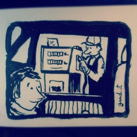 Volevo fare il benzinaio...  http://www.gud.it/fumetto/volevo-fare-il-benzinaio.htm