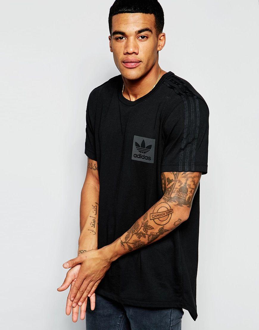 Image 1 of adidas Originals T-Shirt With Box Logo AJ7879