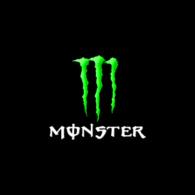 Free And Customizable Wallpaper Unofficial Logo Monster Energy In 2020 Monster Energy Monster Logo Wallpaper Hd