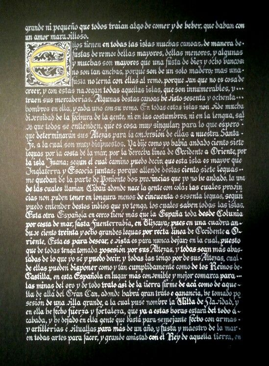 Carta de Cristobal Colón a Luis de Santangel-4