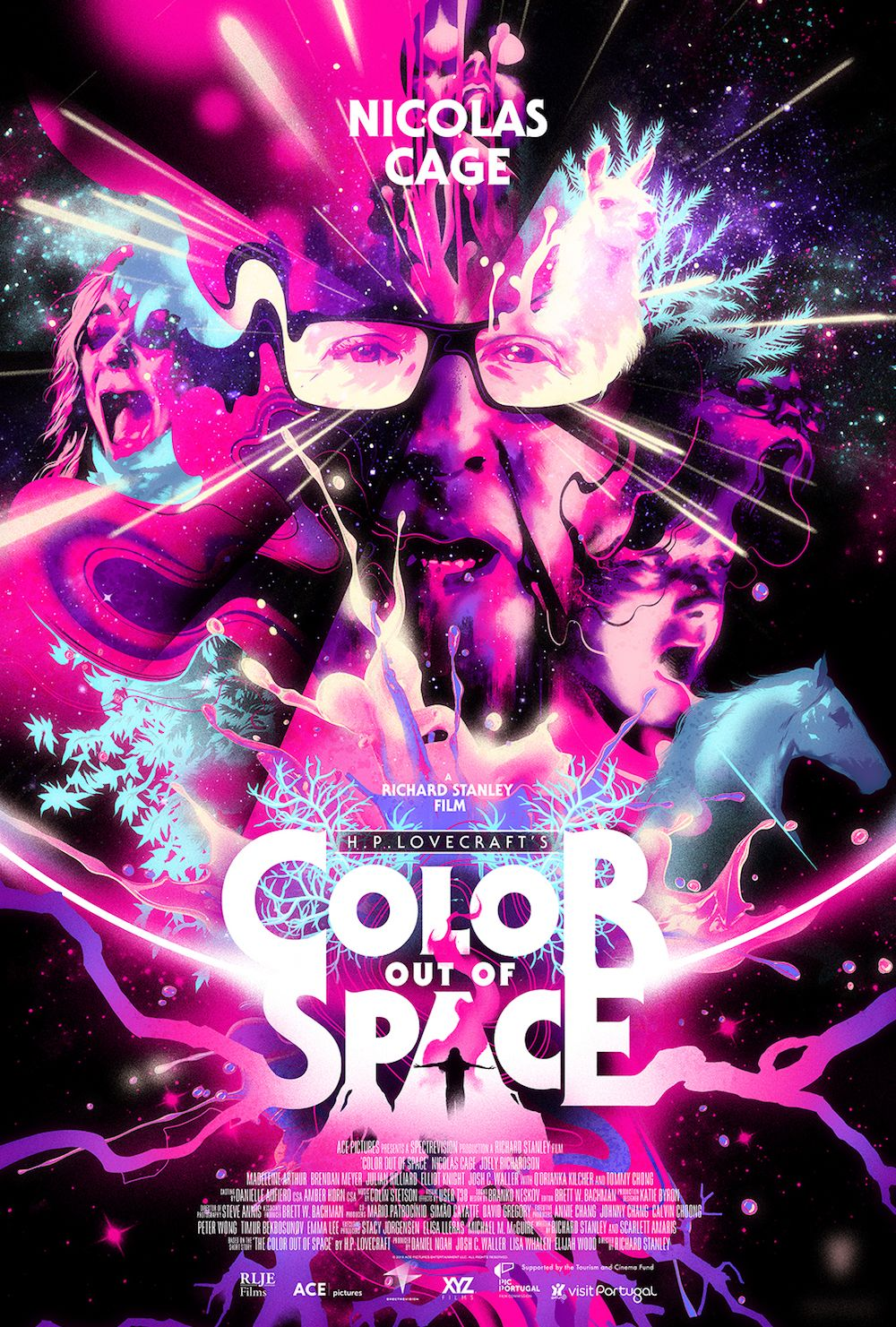 The Color Out Of Space 2019 Color Out Of Space Space Movie Posters Best Horror Movies