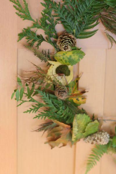 Photo of Kid-Made Fall Nature Wreath