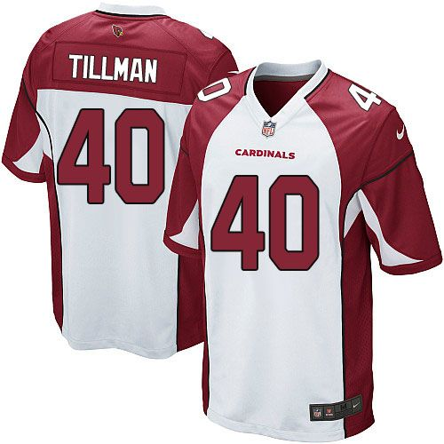 1437b0981 Limited Pat Tillman Mens Jersey - Arizona Cardinals 40 Road White Nike NFL