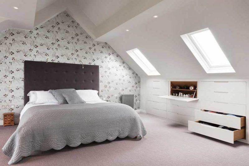 Einbauschrank Dachschraege Günstiges schlafzimmer