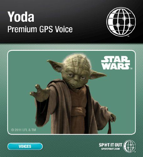 Yoda GPS Voice for Garmin (PC only) [Download] by SpotItOut
