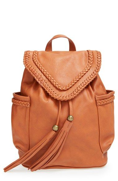 2b185be7317c Dolce Girl Braided Faux Leather Backpack available at  Nordstrom ...