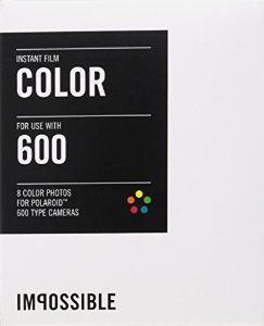 IMPOSSIBLE INSTANT COLOR FILM FOR POLAROID 600-TYPE: Amazon.co.uk: Camera & Photo