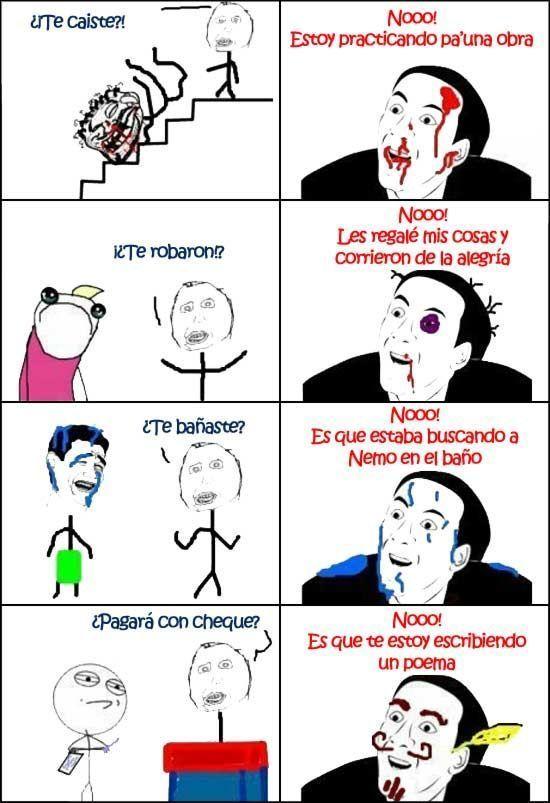 Resultado de imagen de memes en español no me digas