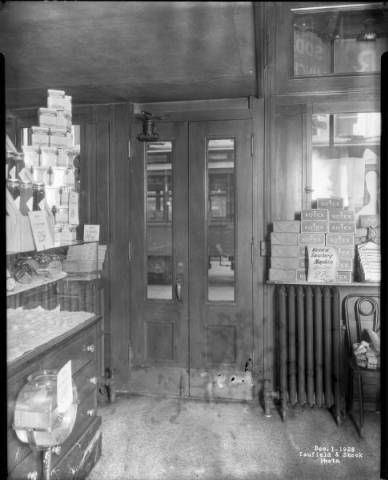 Interior View Front Door Of Taylor Drugstore On S 4th St