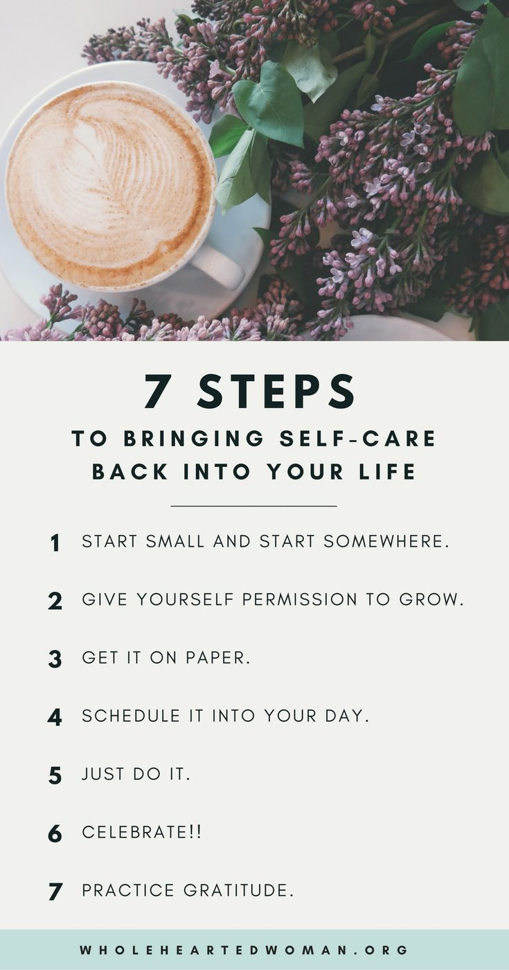 7 Steps To Bring Self-Care Back Into Your Life — molly ho studio
