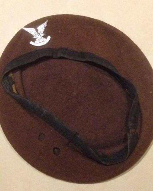 389926c4017d1 Rhodesian Selous Scouts beret - other ranks Military Beret