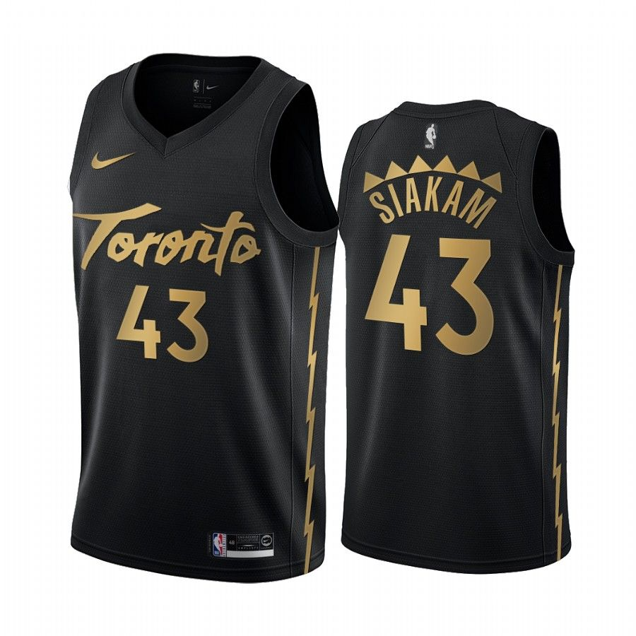 Men S Pascal Siakam Toronto Raptors 2019 20 City Edition Black Jersey In 2020 People Brand Indie Brands Black