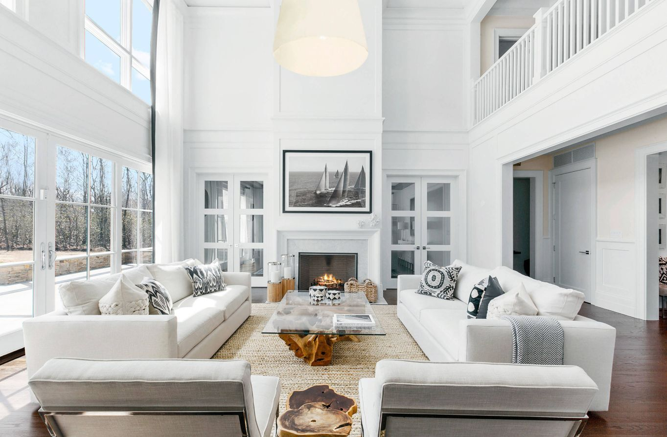 White Living Room Furniture - The Serene Choice That Never Goes Out Of Style images