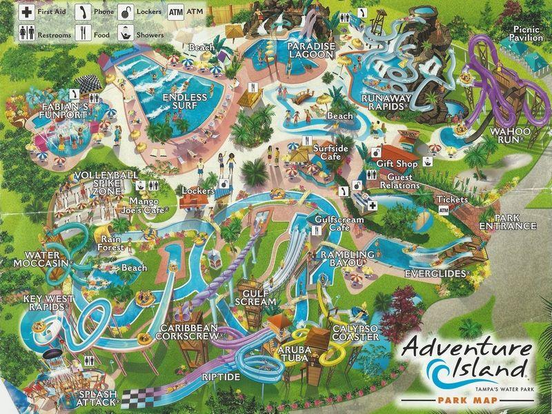 Adventure Island water park, Tampa, FL Favorite Places