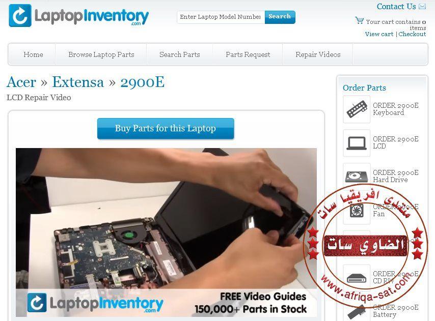 موقع رائع يقدم شروحات بالفيديو Repair Videos Laptop Parts Repair