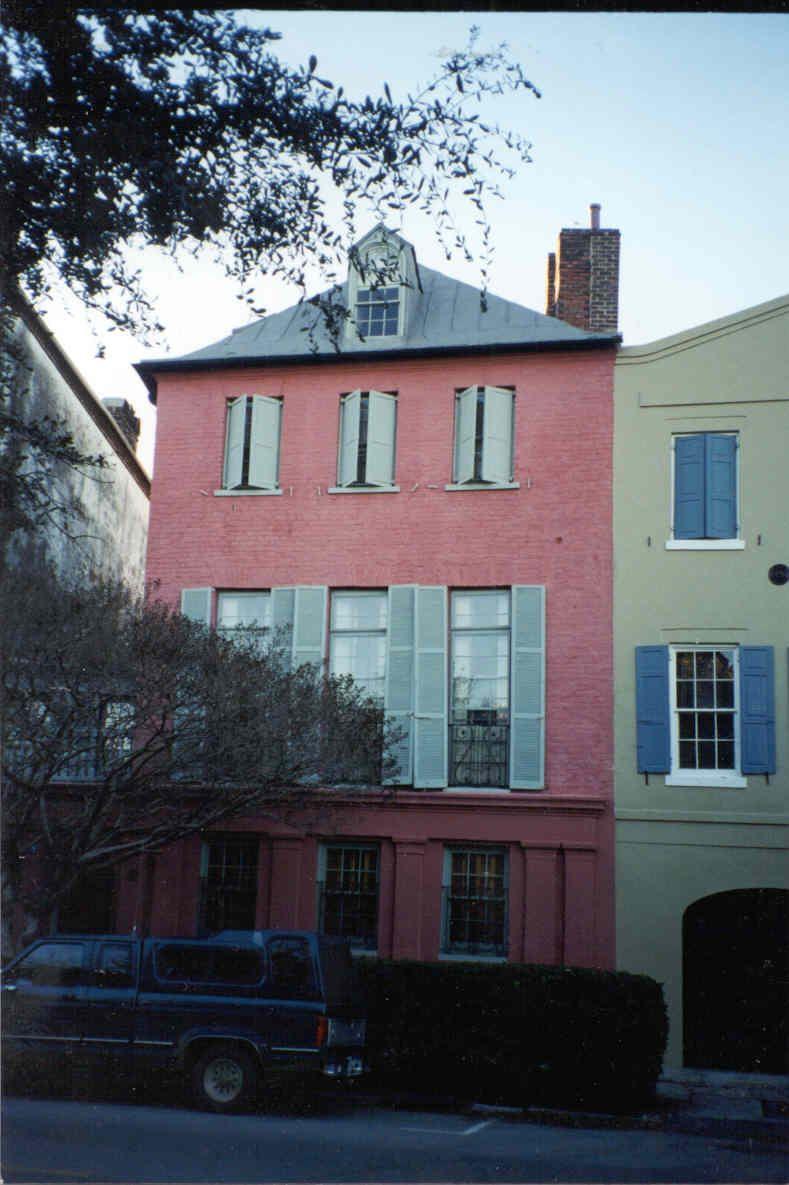 "South Carolina - Charleston  ""Rainbow Row"""