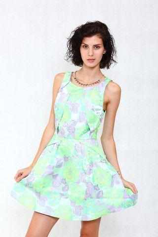 Pink-tag Glamorous Floral Petite Dress  #pinktag #fashion #gree #floral #flower #dress