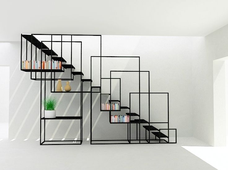 pin modern stair railing - photo #28