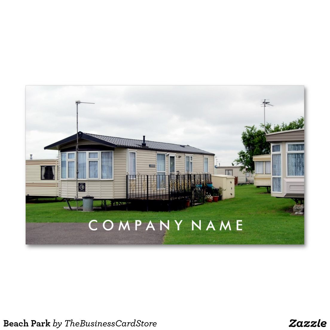 Beach Park Standard Business Card
