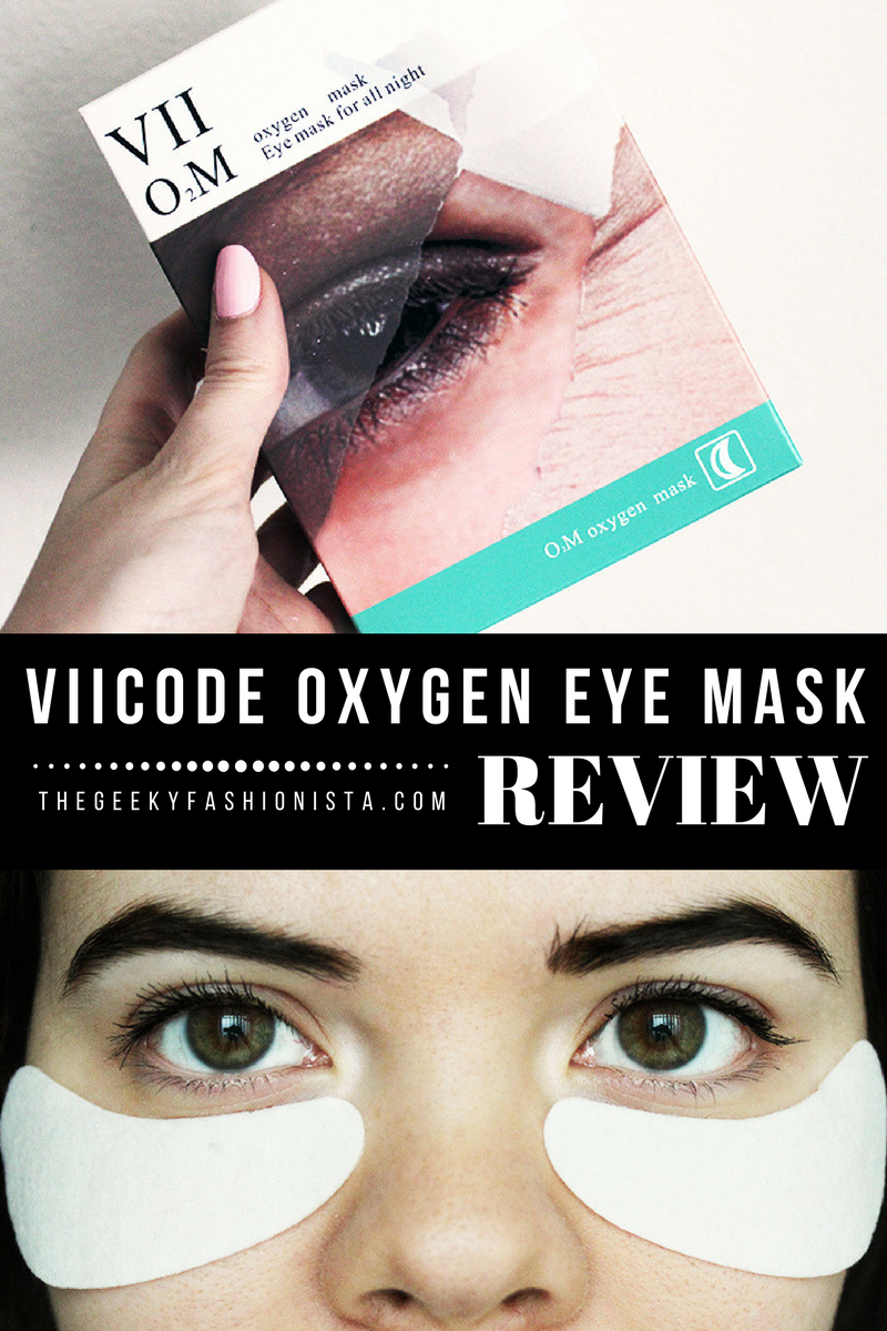 caeb466f363 VII Code Oxygen Eye Mask Review // The Geeky Fashionista | the geeky ...