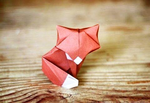 Small origami fox
