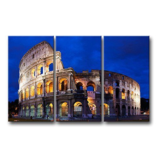 Framed Colosseum In Rome Modern Canvas Art Prints Picture Wall Home Decor New Socrazyart Modernism Things To Do In Italy Italy Italy Holidays