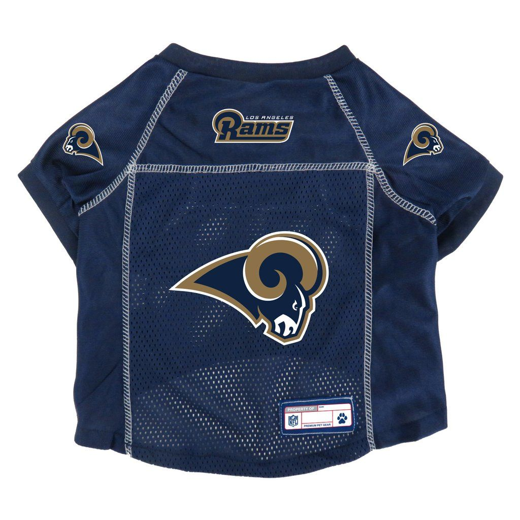 Los Angeles Rams Pet Jersey Size L