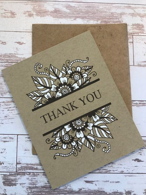 Gina K Designs Thank You Cards Handmade Cards Paper Cards