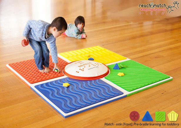 Especially Designed For Blind Or Visually Impaired Children Reach Match Braille Learning Toy Braille Activities Visually Impaired Children Tactile Learning
