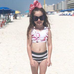 62a1fae1e4332 Swimsuit   Swimwear  Bikini   Girls Swimwear  Tween swimsuit  Toddler  Swimsuit   Tropical swimsuit