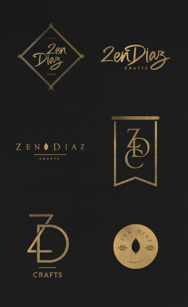 NEW IN PORTFOLIO ZENDIAZ CRAFTS LOGO Craft logo