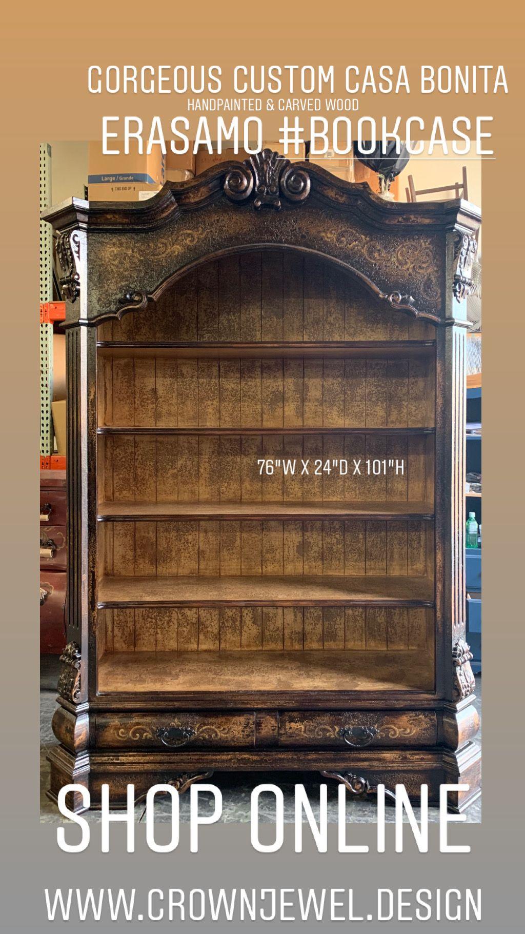 Shop Www Crownjewel Design Casa Bonita Handpainted Handcrafted Wood Bookcases Sir Oliver Candles Caspari Napkins Handcrafted Wood