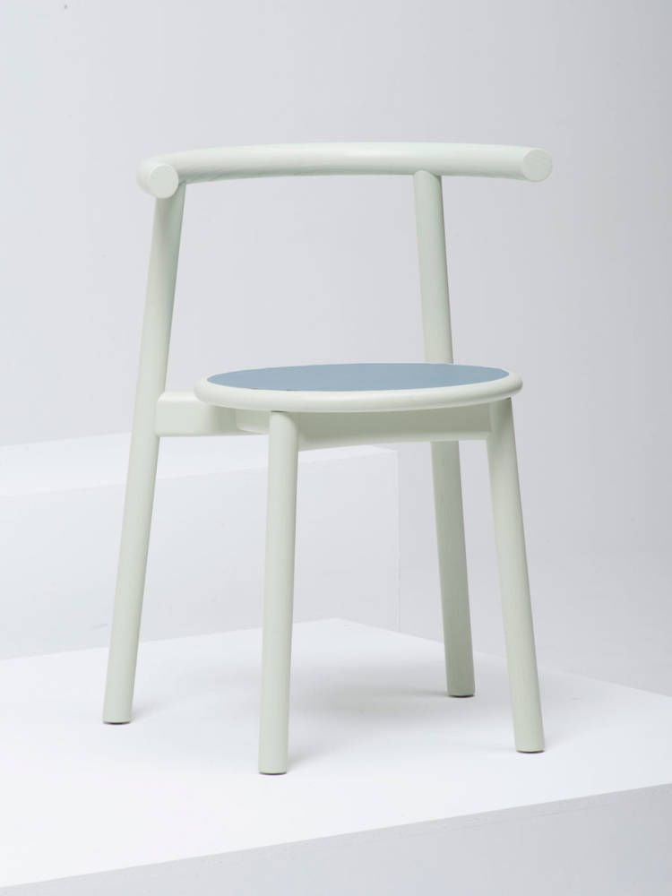 Contemporary Chair Stackable Leather In Wood Solo By Studio Nitzan Cohen Mattiazzi Contemporary Bar Stools Chair Modern Dining Chairs